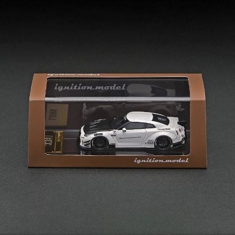 予約 IG2370 イグニッションモデル 1/64 日産 LB-WORKS GT-R R35 type 2 White LBオリジナルパッケージ