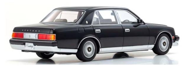 新品KSR18002BK2 京商 1/18 トヨタ センチュリー ドアミラーVer. ブラック/神威 限定 700個