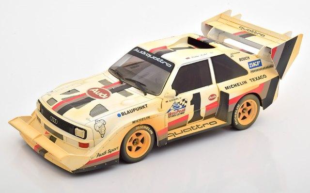 予約 CMR190 CMR 1/18 アウディ Sport Quattro S1, Winner Pikes Peak 1987 Dirt Look Version, Roehrl