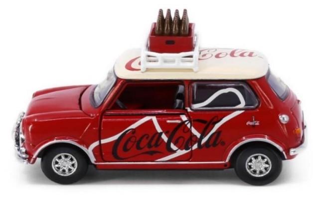 新品COKE005 タイニーCity   ミニクーパー Mk 1 コカ・コーラ