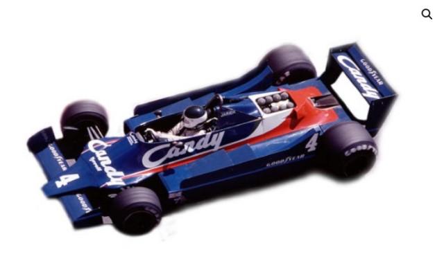 予約MTG002 タメオキット 1/43 フォード ティレル 009 モナコ G.P. 1979