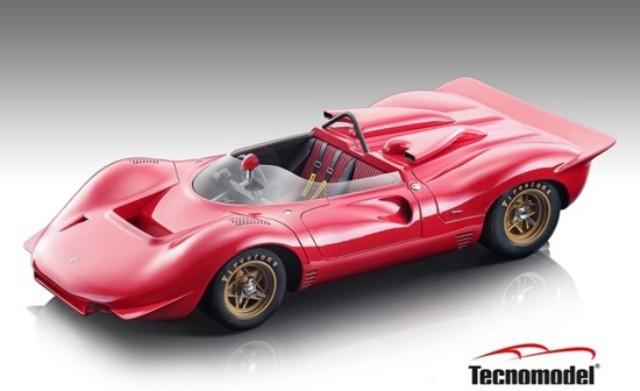 予約 TM18-251A テクノモデル 1/18 フェラーリ 350 P4 カンナム 1967 プレスバージョン