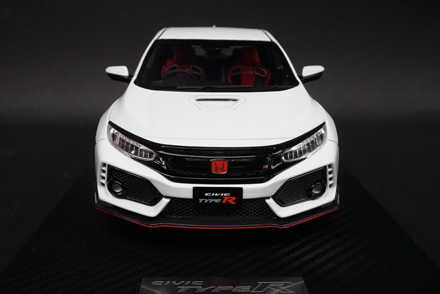新品 20B05-01 onemodel 1/18 ホンダ Civic Type-R FK8 Championship White