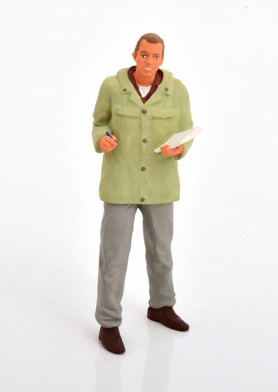 新品 RK18A005 ROAD KINGS 1/18  Figurine Spediteur (standing)