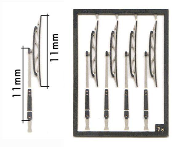 取寄せFT08 タメオキット   Single long wiper 8 pieces 80s