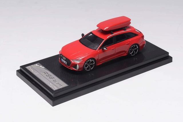 予約  Stance Hunters 1/64 アウディ Audi RS6 Avant C8 レッド 299台限定