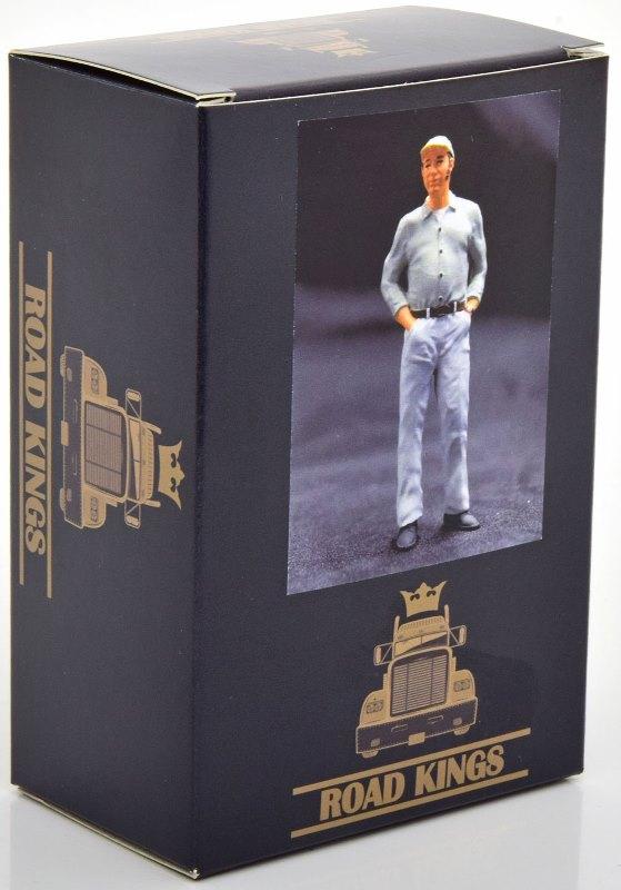 新品 RK18A001 ROAD KINGS 1/18  Figurine Trucker Franz (standing)