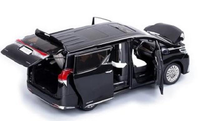 新品TK-KF026-4 ケンファイ 1/18 レクサス LM300h Pearl Black  ※右ハンドル仕様