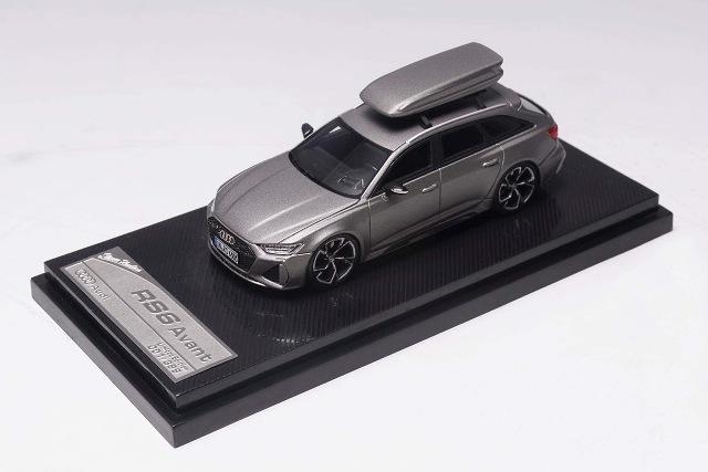 予約  Stance Hunters 1/64 アウディ Audi RS6 Avant C8 マットグレー 399台限定