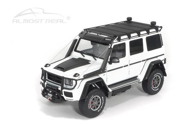 新品 AL860305 Almost Real Model 1/18 メルセデス ベンツ ブラバス Brabus 550 Adventure G- Class 4×4 2017 ホワイト