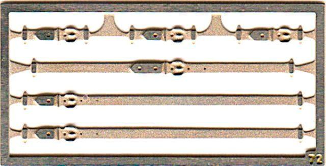 取寄せFT16 タメオキット   Long leather hooks 6 pieces 50s