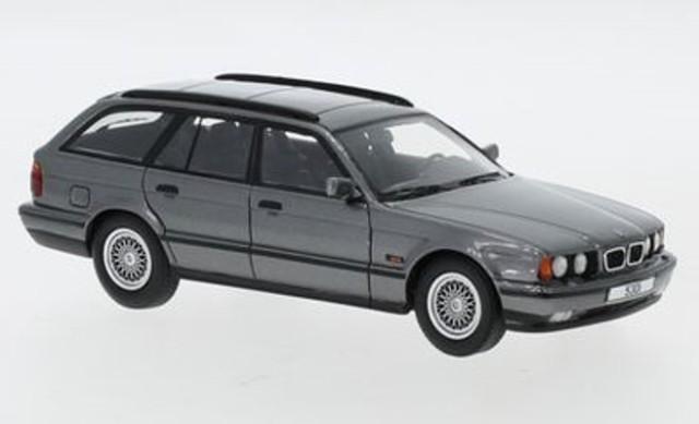 新品 NEO45791 NEO 1/43 BMW 530i (E34) ツーリング メタリックグレー
