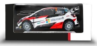 新品TOY13143NO8 スパーク LG55 1/43 トヨタ ヤリス WRC #8