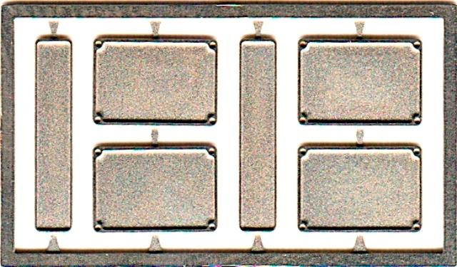 取寄せFT18 タメオキット   Number plate frame front and rear4 + 8 pieces 60s