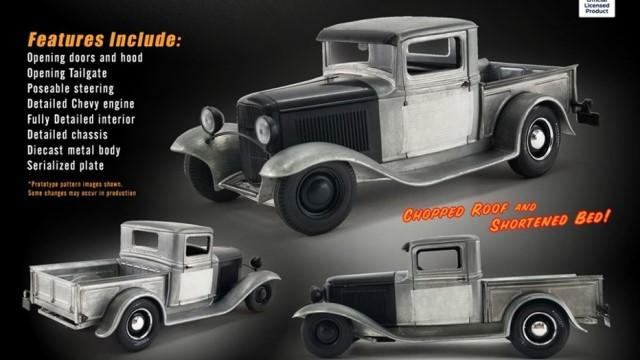 予約 A1804100 ACME 1/18 フォード 1932 HOT ROD TRUCK - Red