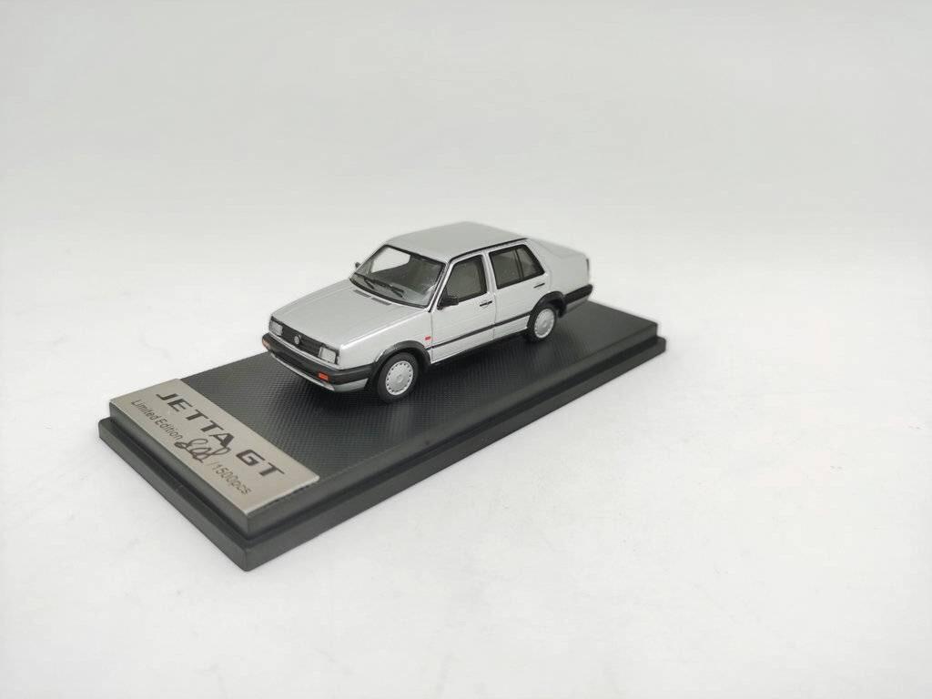 新品OT640001S Old Time Model 1/64 フォルクスワーゲン ジェッタ GT シルバー