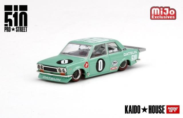 予約 KHMG008 TSM MINI-GT 1/64  ダットサン 510 プロストリート KDO510 KAIDO HOUSE (左ハンドル)北米限定