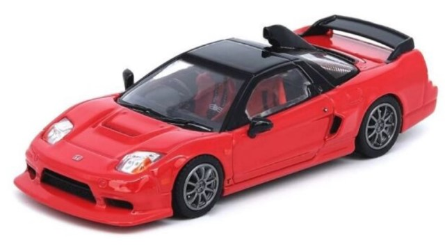 新品IN64-NSXGT-RED INNO イノモデル 1/64 ホンダ NSX-R GT レッド