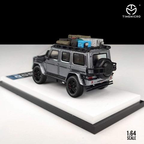 予約  TM Time Micro 1/64 メルセデス ベンツ ブラバス Benz Brabus G550 グレー アクセサリー付き