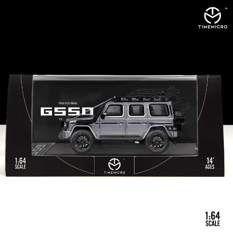 予約  TM Time Micro 1/64 メルセデス ベンツ ブラバス Benz Brabus G550 グレー