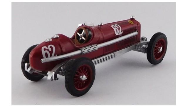 予約RIO4632 RIO 1/43 アルファ ロメオ P3 TIPO B Coppa Acerbo 1933 #62 Luigi Fagioli 優勝車