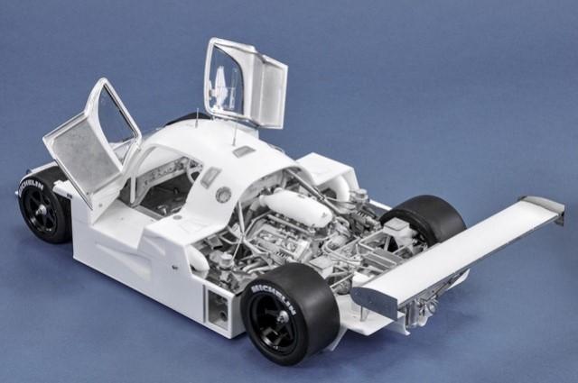新品 K733 Model Factory Hiro 1/12  C9 LM LeMans winner 1989 フルディテールキット MFH