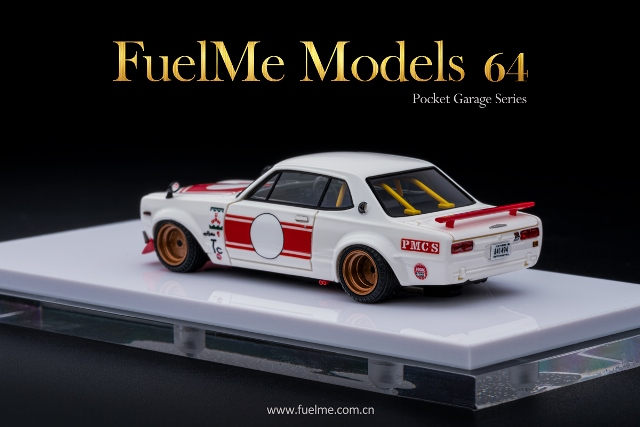 予約 FM64006PG-02 Fuelme Models 1/64 日産 ハコスカ KPGC10 CHARASUKA WORKS Racing Ver