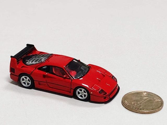 予約 PGM-640601 PGM 1/64 フェラーリ Ferrari F40LM レッド フル開閉モデル luxury version (丸台座)