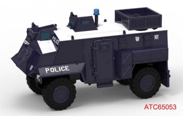 新品ATC65053 タイニー   City No.04 サクソン装甲車 95 PTU