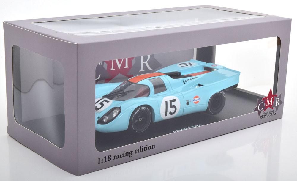 新品CMR146-15 CMR 1/18 ポルシェ 917K ガルフ 1970#15 12h Sebring Rodriguez/Kinnunen