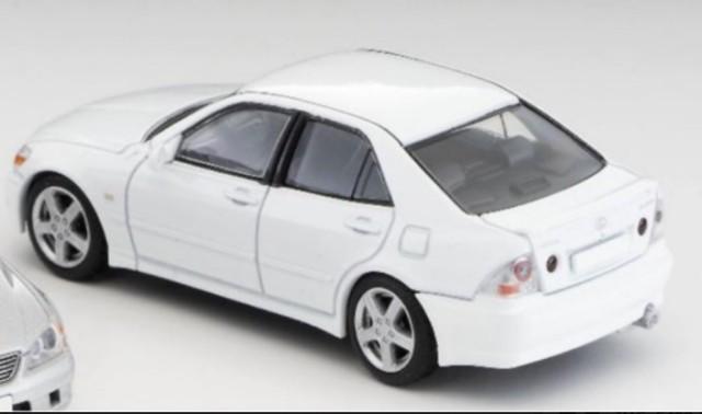 予約TLV-LexusW トミーテック 1/64 レクサス IS200 white アルテッツァ 国内未発売品