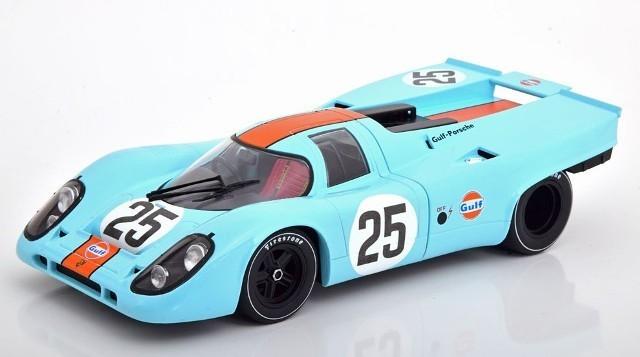 新品CMR146-25 CMR 1/18 ポルシェ 917K ガルフ 1970#25 1000km Spa Rodriguez/Kinnunen