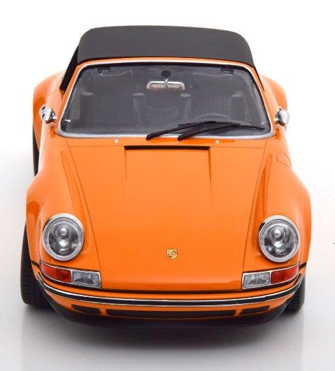 新品 KKDC180472 KK scale 1/18 シンガー 911 Targa orange