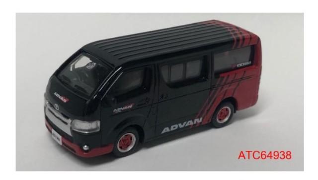 新品ATC64938 タイニーCity  トヨタ ハイエース ADVAN