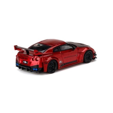 予約MC60-LR TSM MINI-GT 1/64 日産 LBWK限定 LB Silhouette WORKS 35GT-RR ver.1 Lava Red