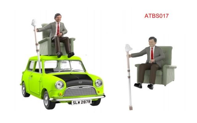 予約 ATBS017 タイニーCity   Mr Bean's Mini ドライブフィギュア付属 (RHD)