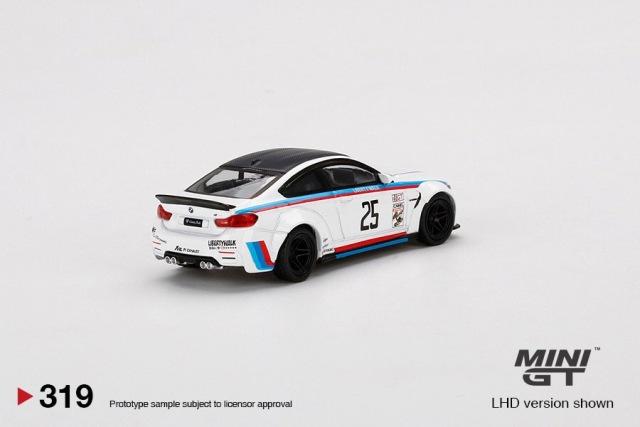 予約 MC97-IM TSM MINI-GT LBWK限定 1/64 BMW LB★WORKS BMW M4 IMSA ブリスターパック仕様
