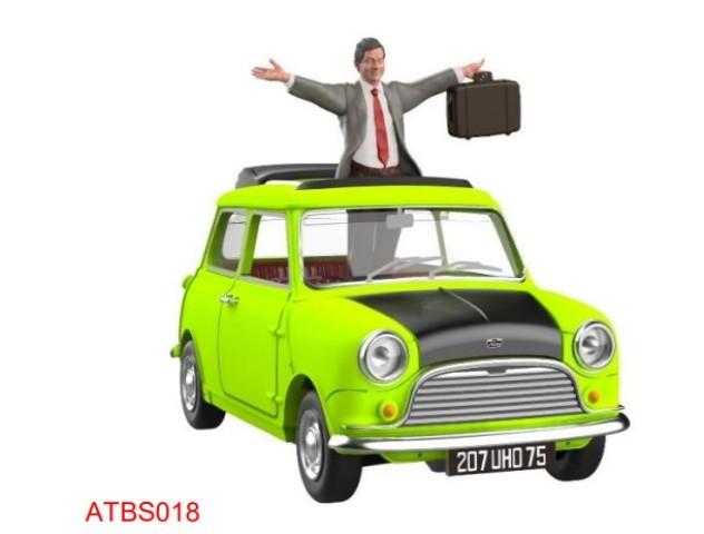 予約 ATBS018 タイニーCity   Mr Bean's Mini サンルーフオープン フィギュア付属 (LHD)