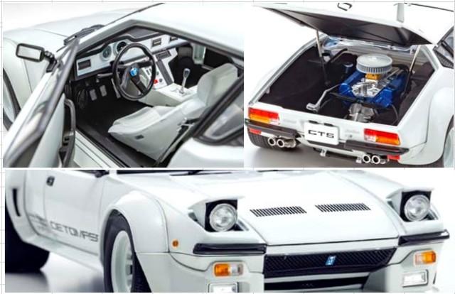 新品KS08854W 京商 1/18 デ・トマソ パンテーラ GT5 (ホワイト)