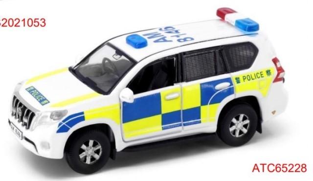 予約 ATC65228 タイニーCity  トヨタ No.146 プラド 2013 香港警察車両 (with mesh window shields) (AM8146)