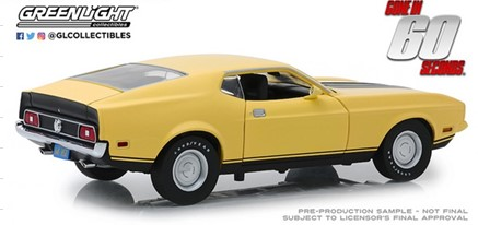 新品 12910 GreenLight 1/18 フォード Gone in Sixty Seconds (1974) 1973 Mustang Mach 1 Eleanor