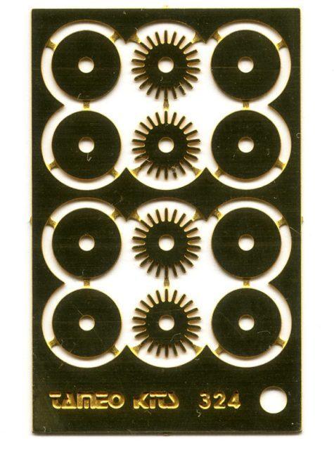 取寄せFT50 タメオキット   Brake disk type B 4 pieces