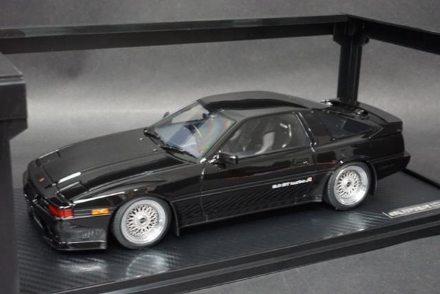 1/18 イグニッションモデル IG1735 トヨタ Supra 3.0GT turbo A (MA70) Black
