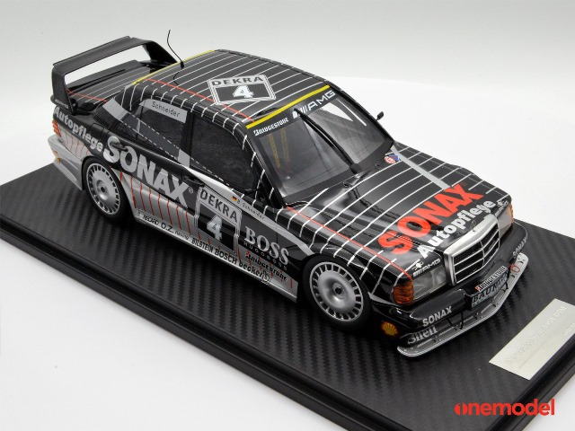 新品20A03-01 onemodel 1/18 メルセデス ベンツ 190E EVO2 1992 #4 B.Schneider