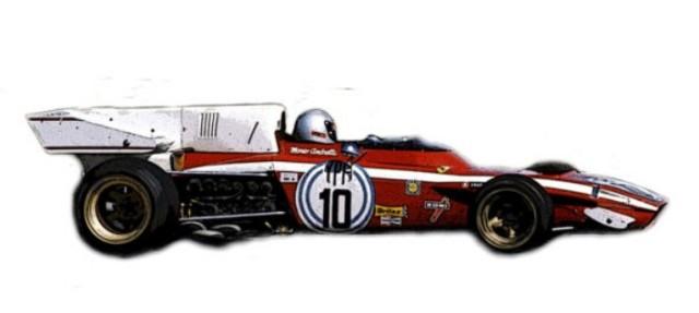 取寄せSLK129 タメオキット 1/43 フェラーリ 312 B2 アルゼンチンGP 1972 Kit semplice