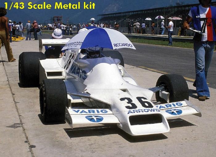 取寄せSLK120 タメオキット 1/43 フォード FA1 ブラジルGP 1978 リカルド・パトリーゼ