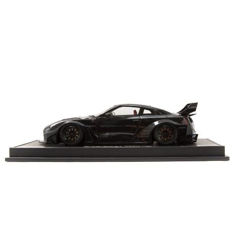新品 EML022C-SP メイクアップ/アイドロン 1/18  LB-Silhouette WORKS GT 35GT-RR ブラック LBWK限定