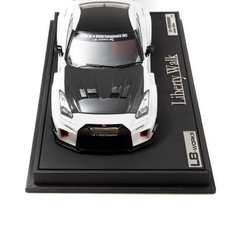新品 EML022A-SP メイクアップ/アイドロン 1/18  LB-Silhouette WORKS GT 35GT-RR ホワイト LBWK限定