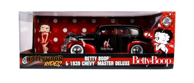 予約 JADA30695 JadaToys 1/24 シボレー シェビー マスター デラックス 1939 ベティ・ブープフィギュア付