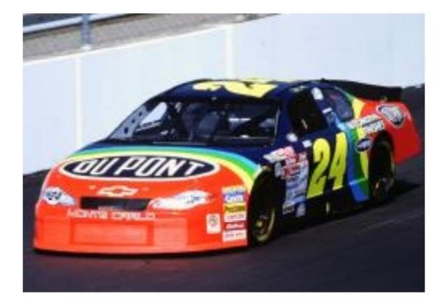 予約 W242165DUPJGK ライオネルレーシング 1/64 シボレー モンテカルロ 2000リッチモンド・フォール・ウィン NASCAR ジェフ・ゴードン #24 デュポン